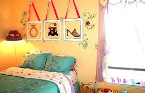 Bedroom Walls Teenage Girl with Yellow Wall Color