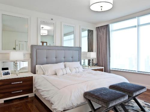 Bedroom with a Lot of Windows