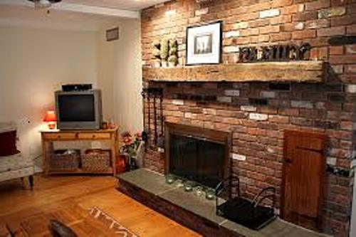 You can keep the living room warm and comfortable if you can find the best ideas on how to decorate a brick fireplace. The brick decoration along the fireplace is very impressive to have. You can have it for modern
