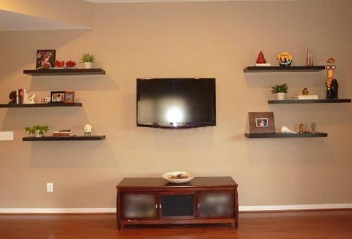Floating Wall Shelves for Living Room