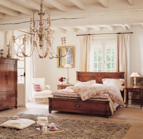 French Country Styled Bedroom