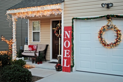 Garage Door for Christmas