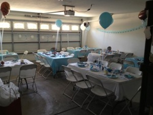 Garage Graduation Party Decor