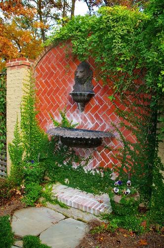 Garden Brick Wall Style
