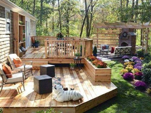 Garden Decking Decor