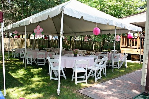 Garden for Birthday Party Decor