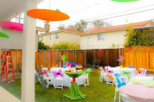 Garden for Birthday Party Design