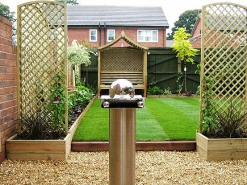 Garden on a Budget with Bamboo Fences
