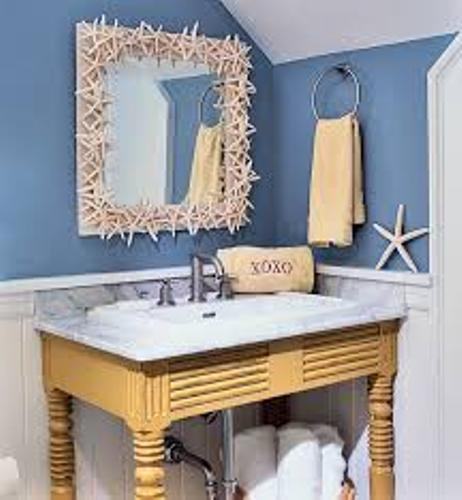 How to Decorate a Bathroom in a Beach Theme