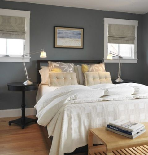 How to Decorate a Bedroom with Gray Wall