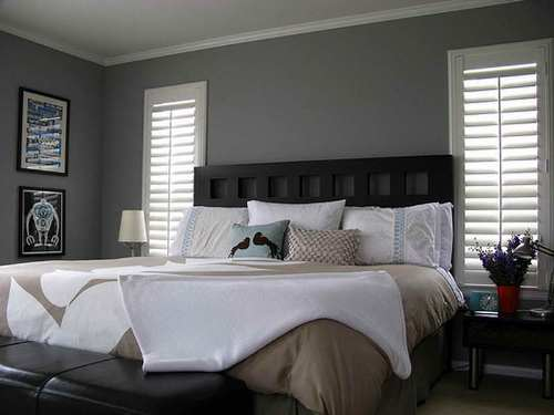 How to Decorate a Bedroom with Gray Walls