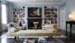 How To Decorate Bookshelves Around A Fireplace: 5 Ways