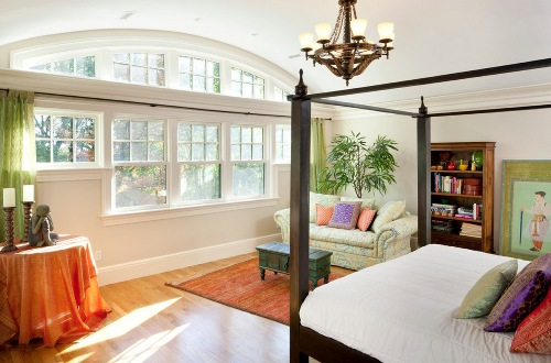 Nice Bedroom with Many Windows
