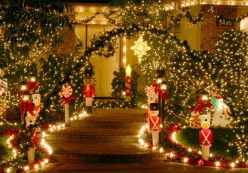 Sparkling Garden for Christmas