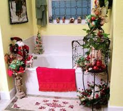 Stylish Bathroom for Christmas