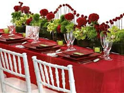Valentine's Day Table Decorations