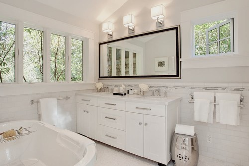 Clean Large Bathroom Mirror