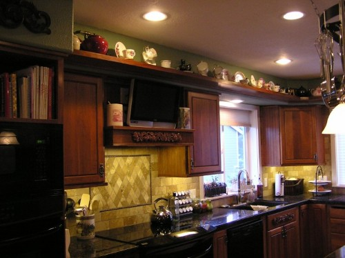 Decorative Kitchen Bulkhead