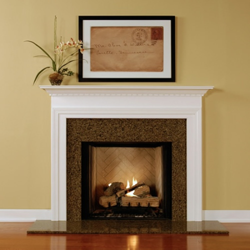 Enchanting Fireplace Mantel with Pictures