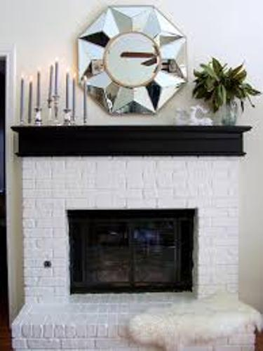 Fireplace Mantel for Winter