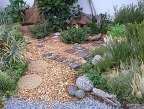 How to Decorate Garden with Pebbles