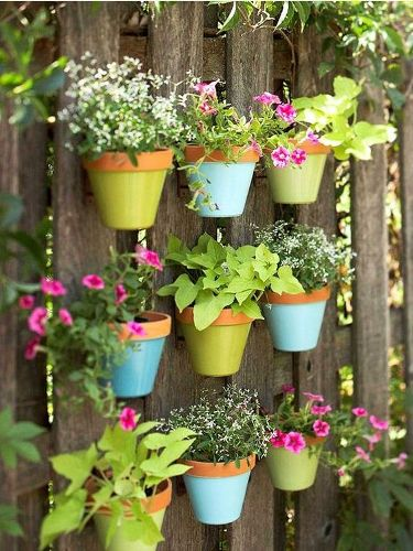 How to Decorate Your Garden with Pots
