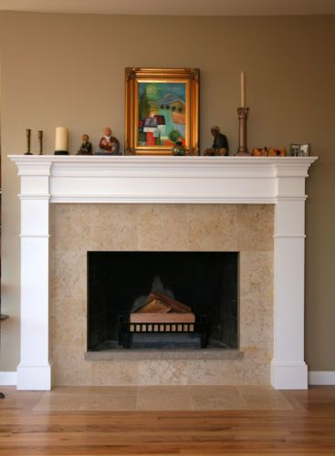 How to Decorate a Fireplace Mantel with Pictures