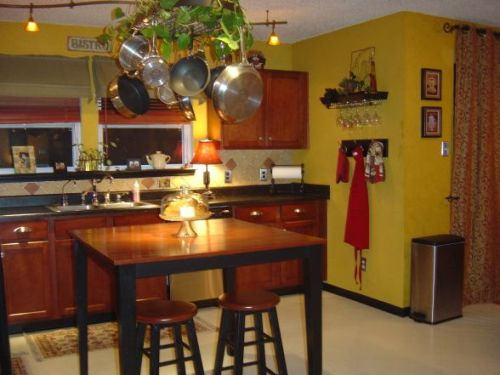 How to Decorate a Kitchen Cafe Style