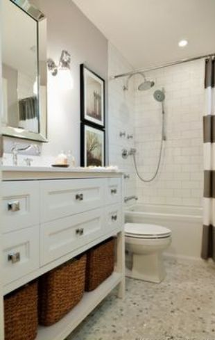 How to Decorate a Large Bathroom Vanity