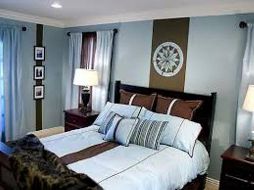 How to Decorate a Room with Blue and Brown