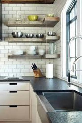 Kitchen Corner Shelf Ideas