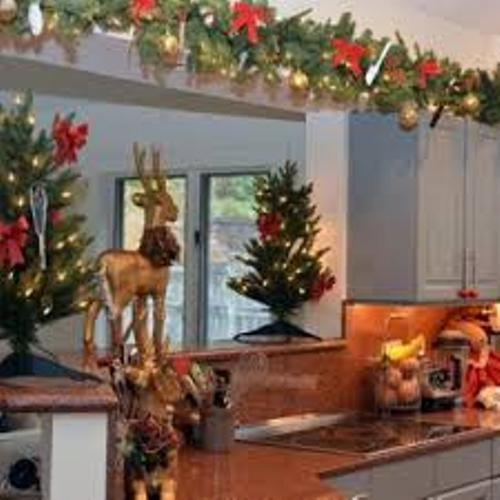 Kitchen Cupboards for Christmas Holiday