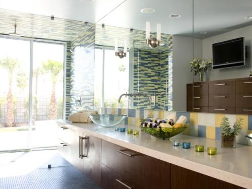 Long Bathroom Counter Ideas
