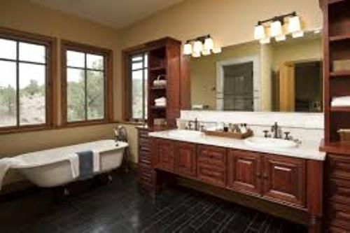 Long Narrow Bathroom Decor