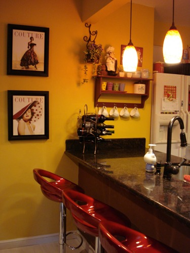 Retro Kitchen Cafe Style
