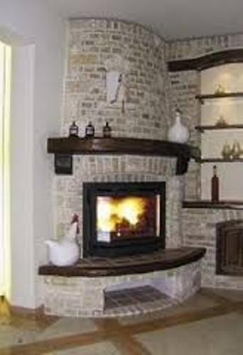 Round Fireplace Mantel Ideas