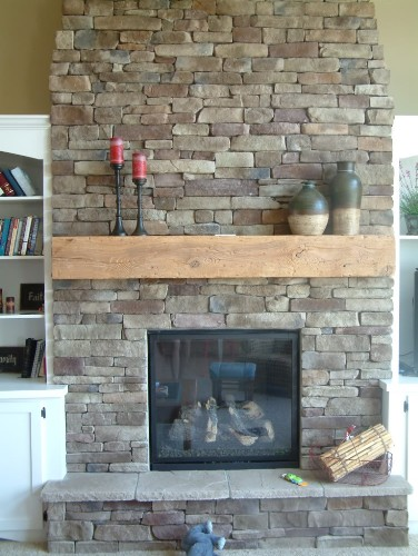 Stone Fireplace Mantel Ideas