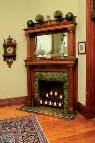 The ways on how to decorate a Victorian fireplace mantel will make the antique mantel enticing and superb. Even though you live in a modern world