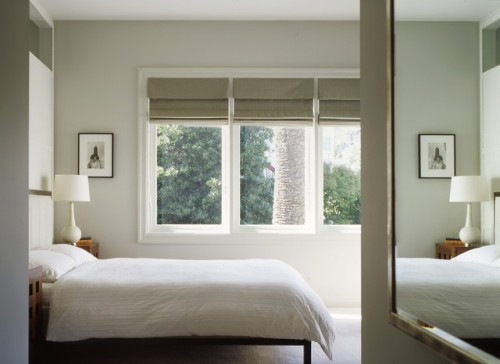 Chic Bedroom with a Large Window