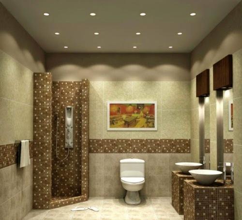 Creative Bathroom Ceiling