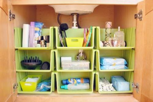 How to Organize Small Bathroom Cabinet