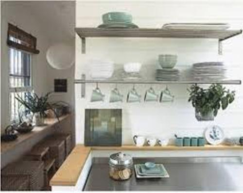 How to Organize a Kitchen Without Cabinets