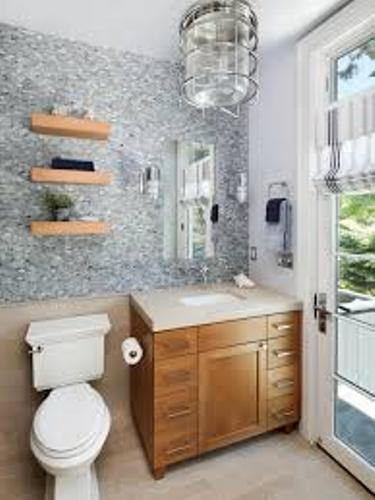 Makeup in a Small Bathroom Design