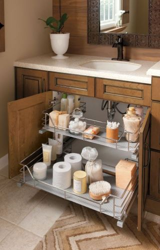 Stylish Small Bathroom Cabinet