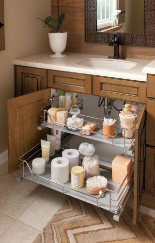 Stylish Small Bathroom Cabinet