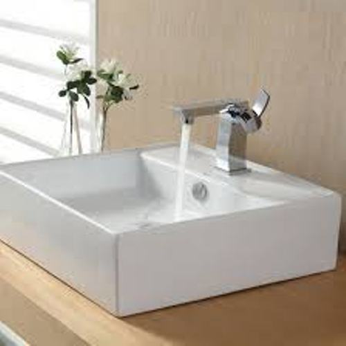 White Bathroom Bowl Sink