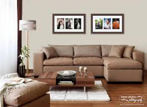 How to arrange 2 large pictures on a wall 5 ideas for proportional living room wall home - How to decorate living room walls ...