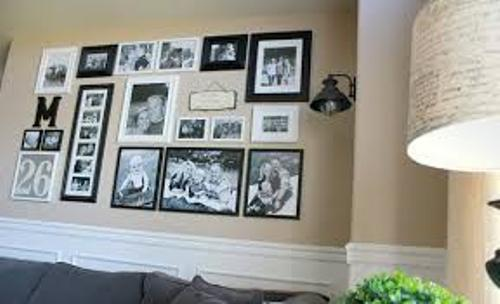 Amazing Family Pictures on a Large Wall
