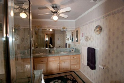 How to install a bathroom ceiling fan 5 tips with simple for Bathroom ceiling fan installation