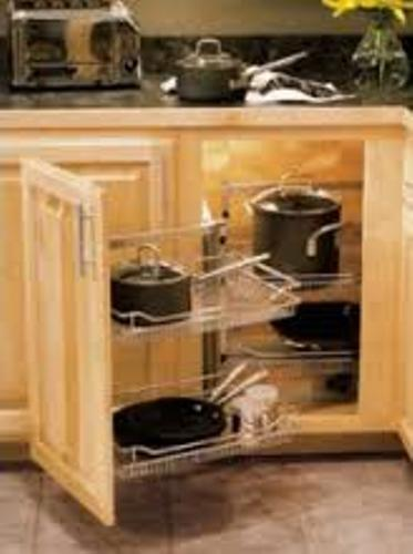 How To Make Pull Out Shelves For Kitchen Cabinets